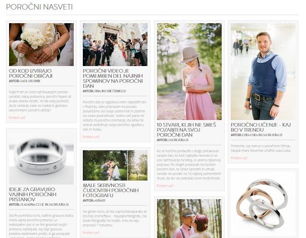 poročni blog