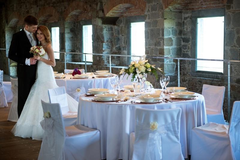 Poročno slavje na Ljubljanskem gradu