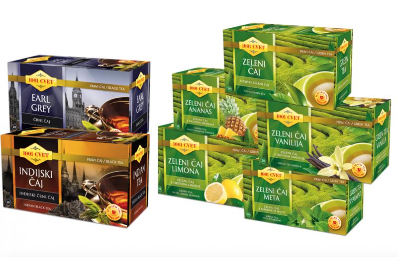 1001 cvet - zeleni čaj