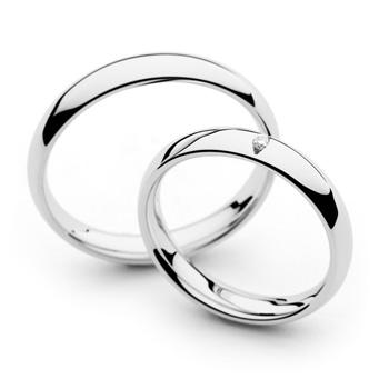 Klasičen poročni prstan