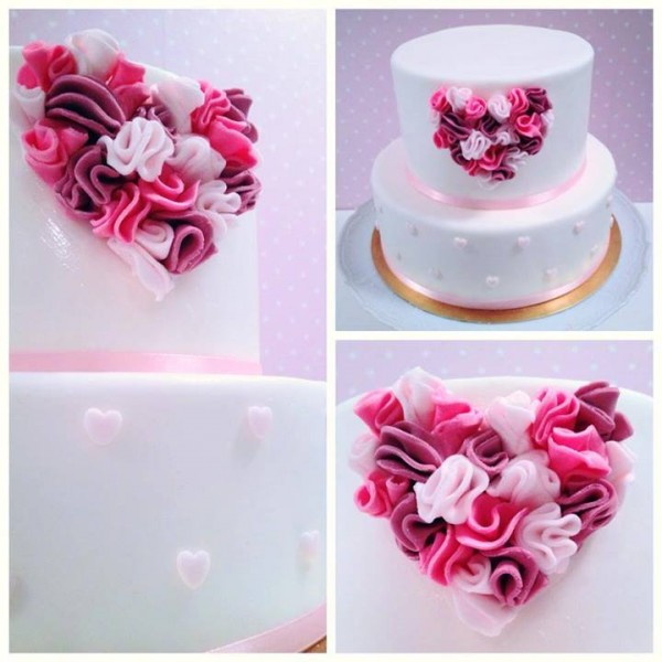 Dekoracija na poročni torti