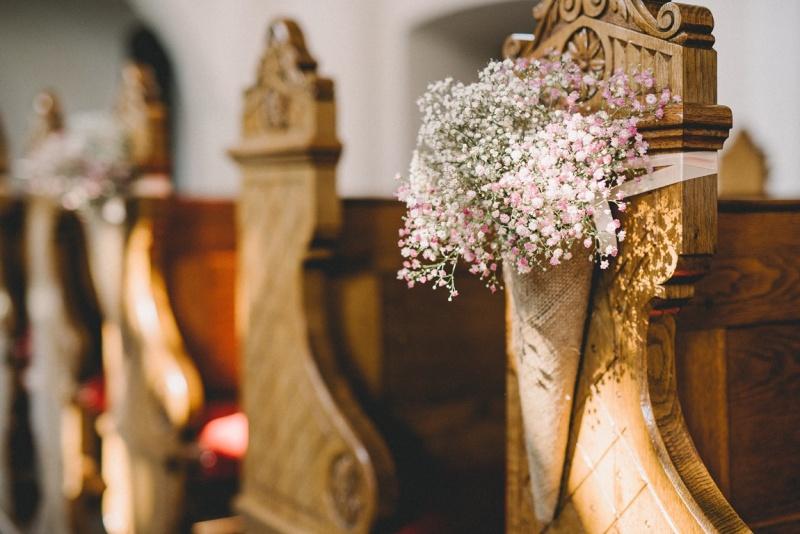 Rustikalna poročna dekoracija
