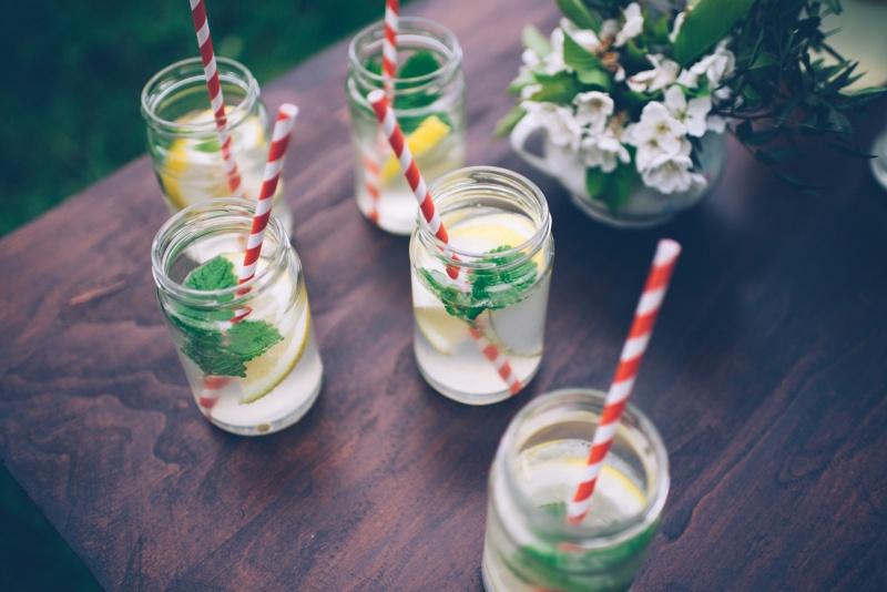 osvežitev na poroki, limonada
