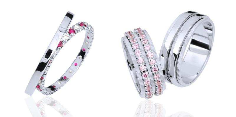 Barvni kamni, poročni prstan