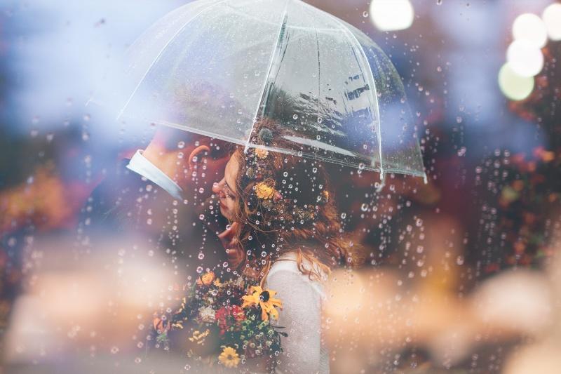 Dež na poroki