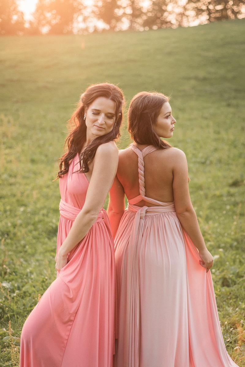 Obleke za družice, ELIZA&ETHAN