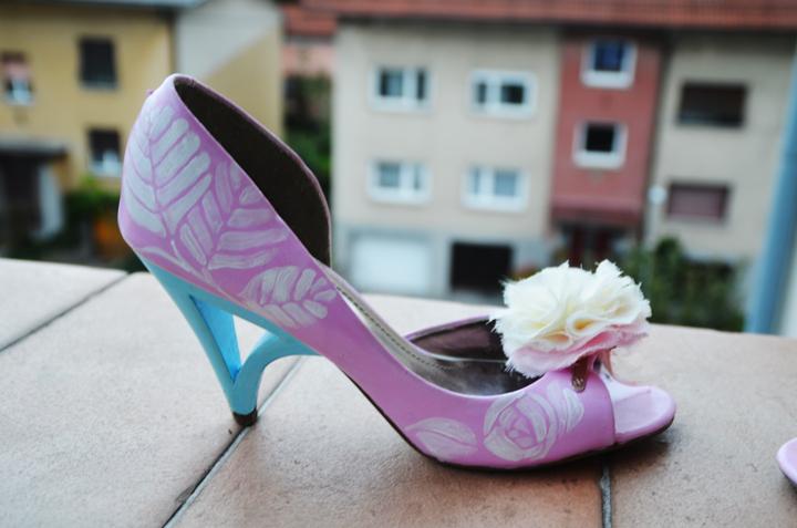 Marta poročni čevlji
