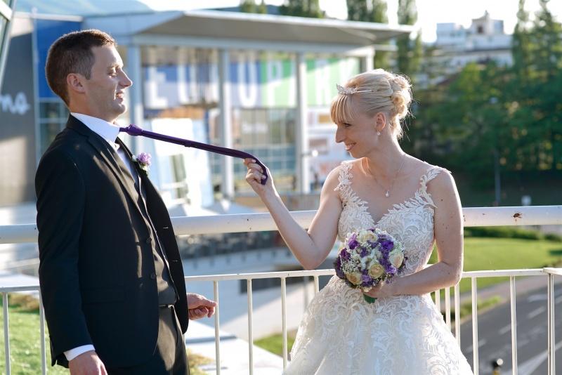 Europarkova sanjska poroka, poroka, ženin in nevesta, zaobljuba.si