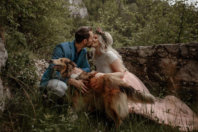 romantične fotografije na Gradu Kamen