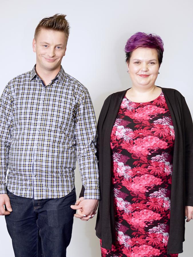 Ines Ferčič in Daniel Cigula
