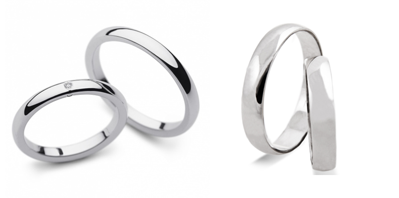 Klasični poročni prstan