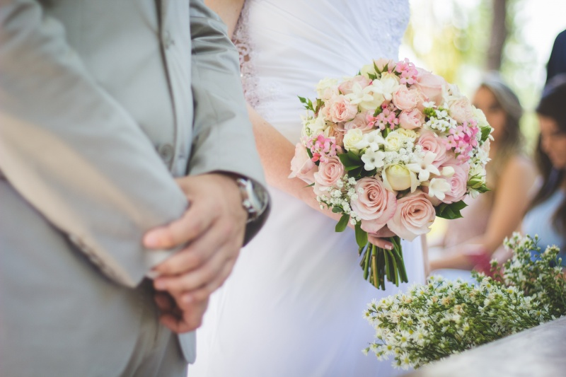 ženin in nevesta