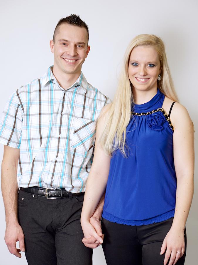 Natalija Bodner in Gregor Šipek