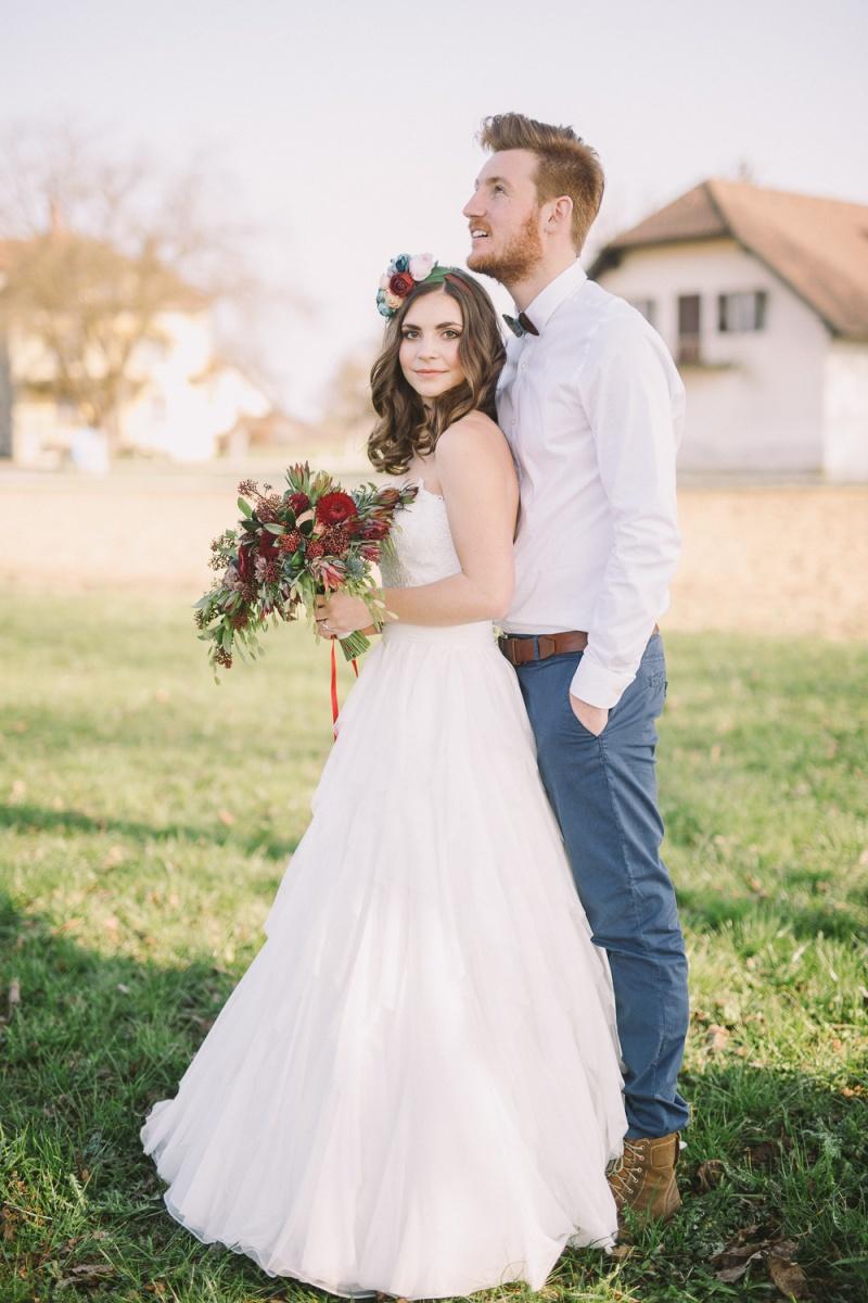 Navidezna poroka - mladoporočenca