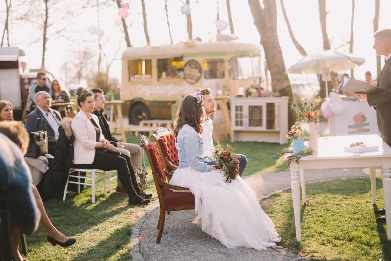 Navidezna poroka - civilni obred