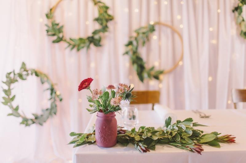 Navidezna poroka - dekoracija