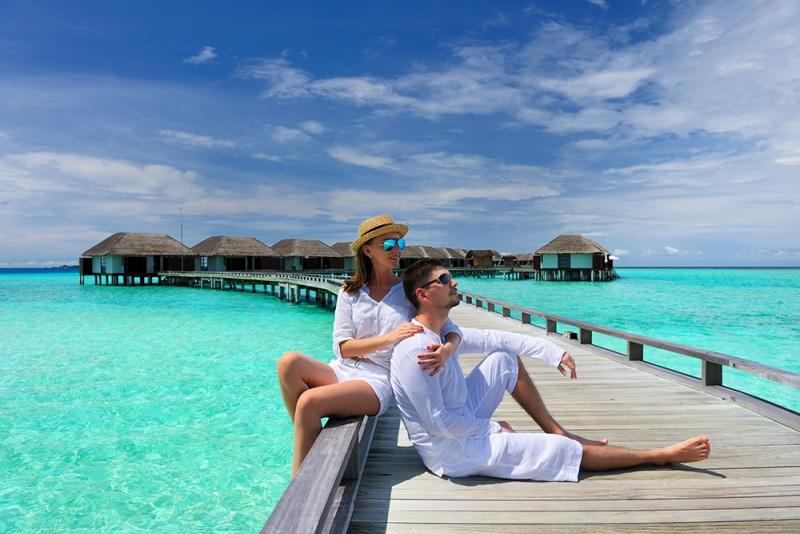 Poročno potovanje Maldivi