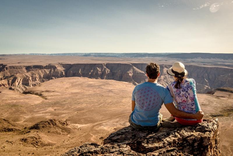 Poročno potovanje Namibija