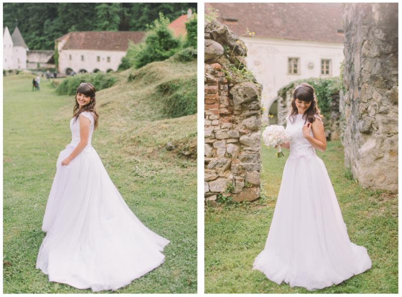 Poročna obleka naročena, Foto: Nastja Kovačec