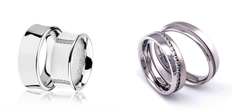 Poročna prstana_Jeklo