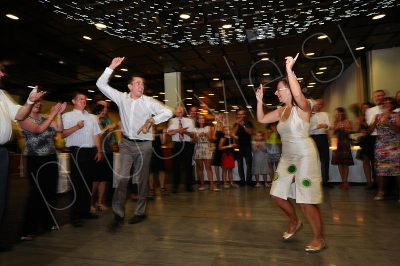 ples na poroki, poročni ples, prostyle, zaobljuba