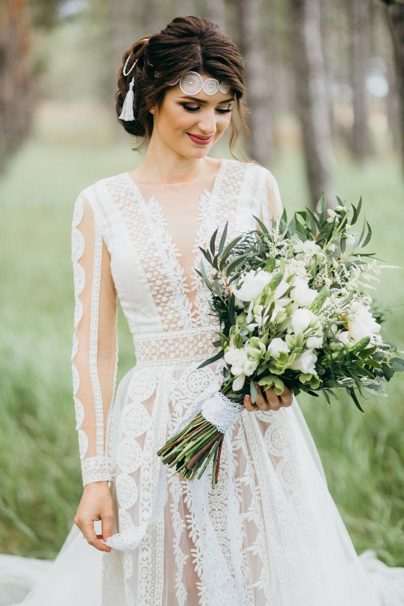Poročni šopek, nevesta, poroka