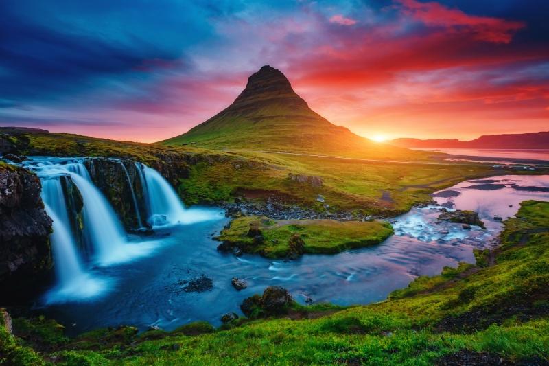 Poročno potovanje Islandija