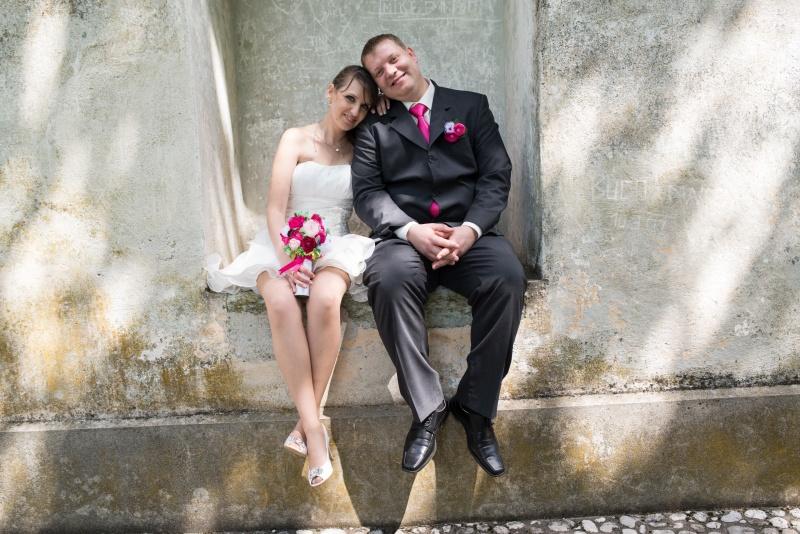 Deja in Bojan, unikatna poroka