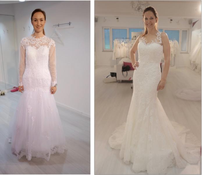KItajska in slovenska poročna obleka