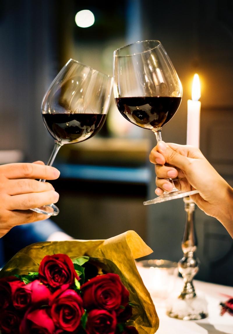 Romantična večerja_valentinovo