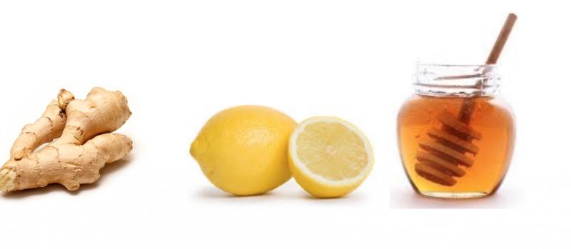 Ingver, limona, med