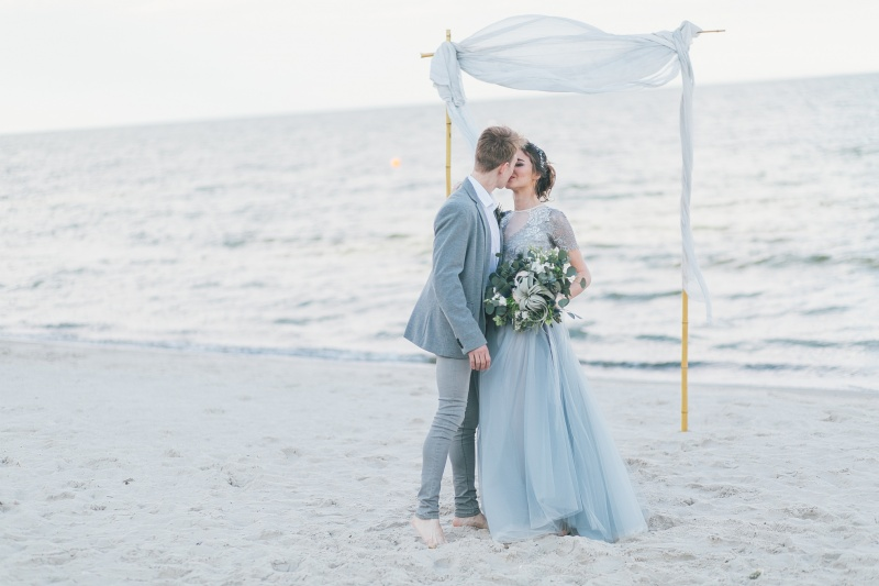 Poroka presenečenja na plaži