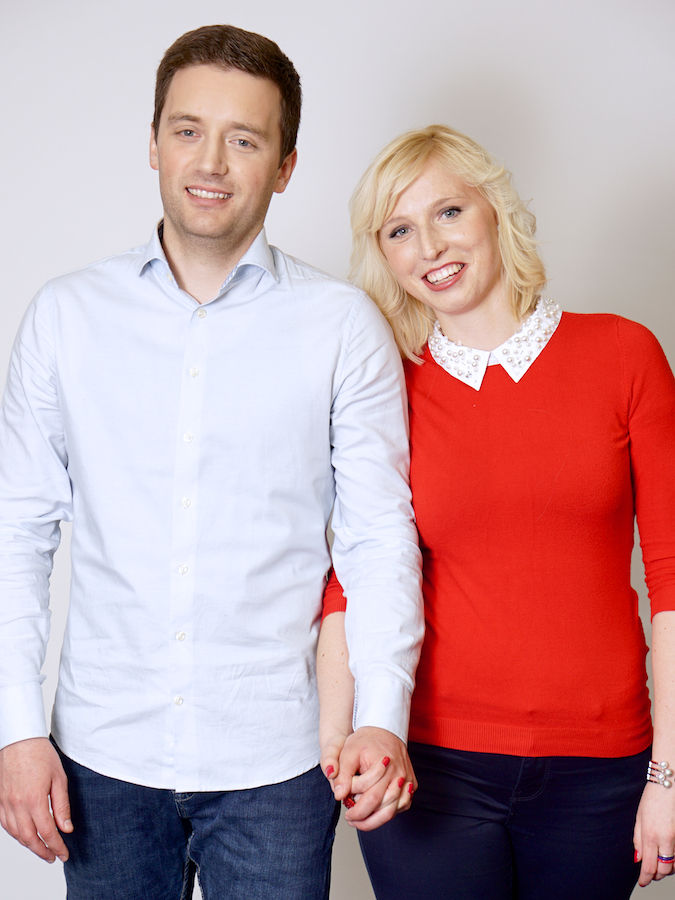 Tadeja Ornik in Boris Grubar