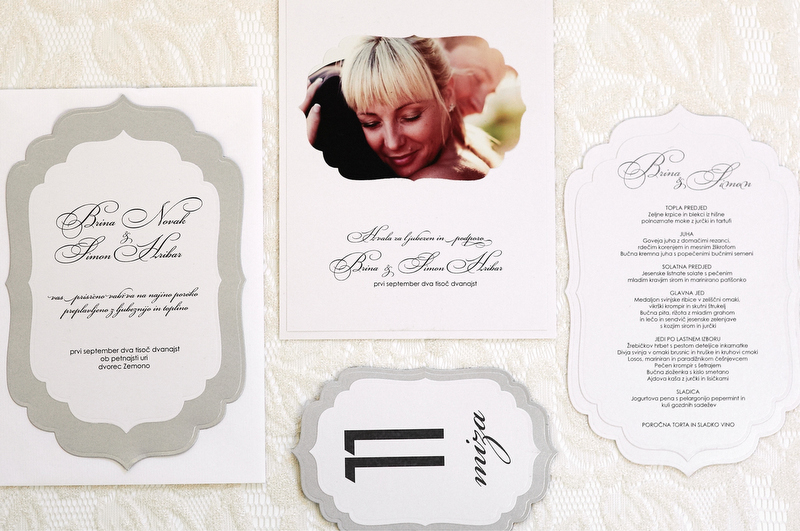 Poročne tiskovine - Nadjina vabila