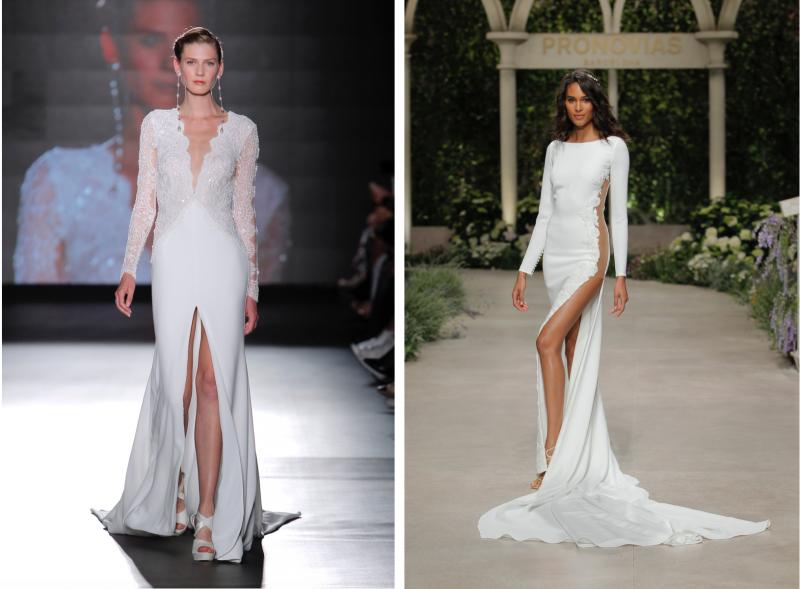 Trendi poročnih oblek sezona 2019
