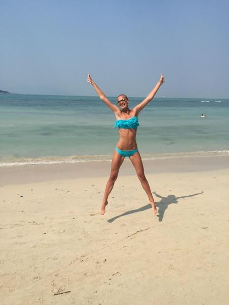 Tjaša Kokalj, tajska, plaža