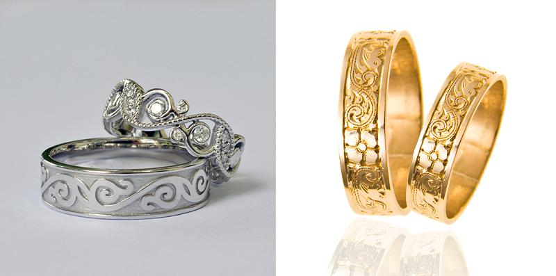 Vintage poročni prstani