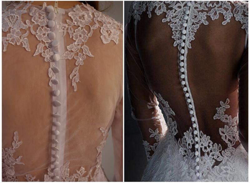 Hrbtni del poročne oblek iz Kitajske