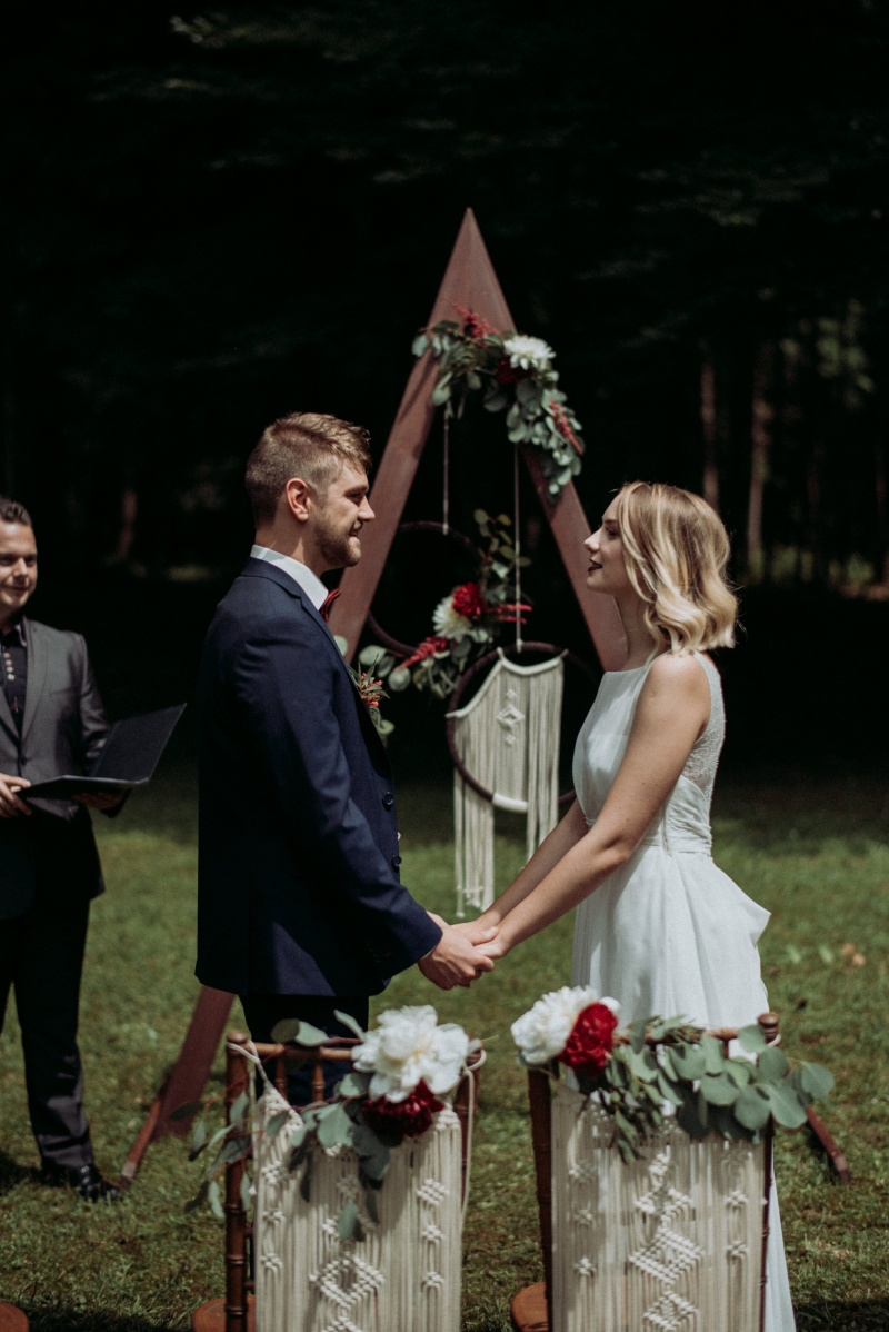 poroka, vila široko, zaobljuba