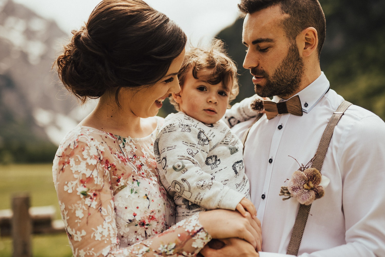 Poroka v Logarski dolini
