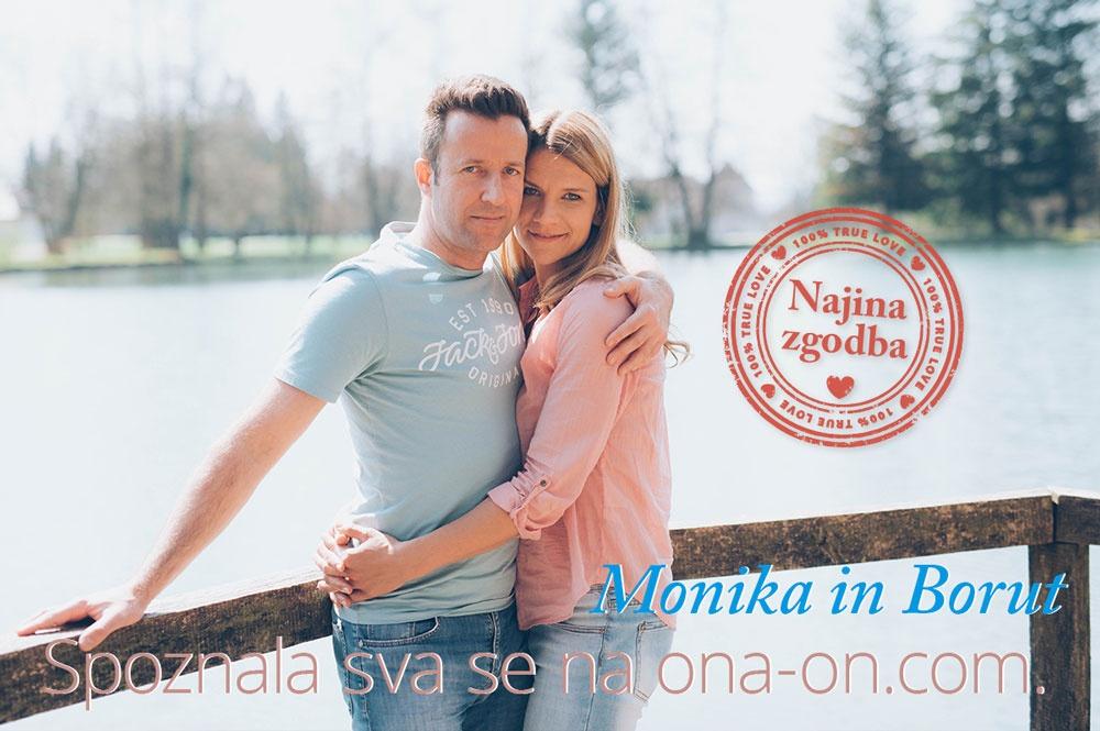 Monika in Borut, ona-on.com