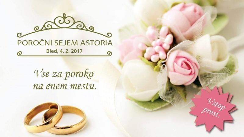 Poročni sejem Astoria Bled