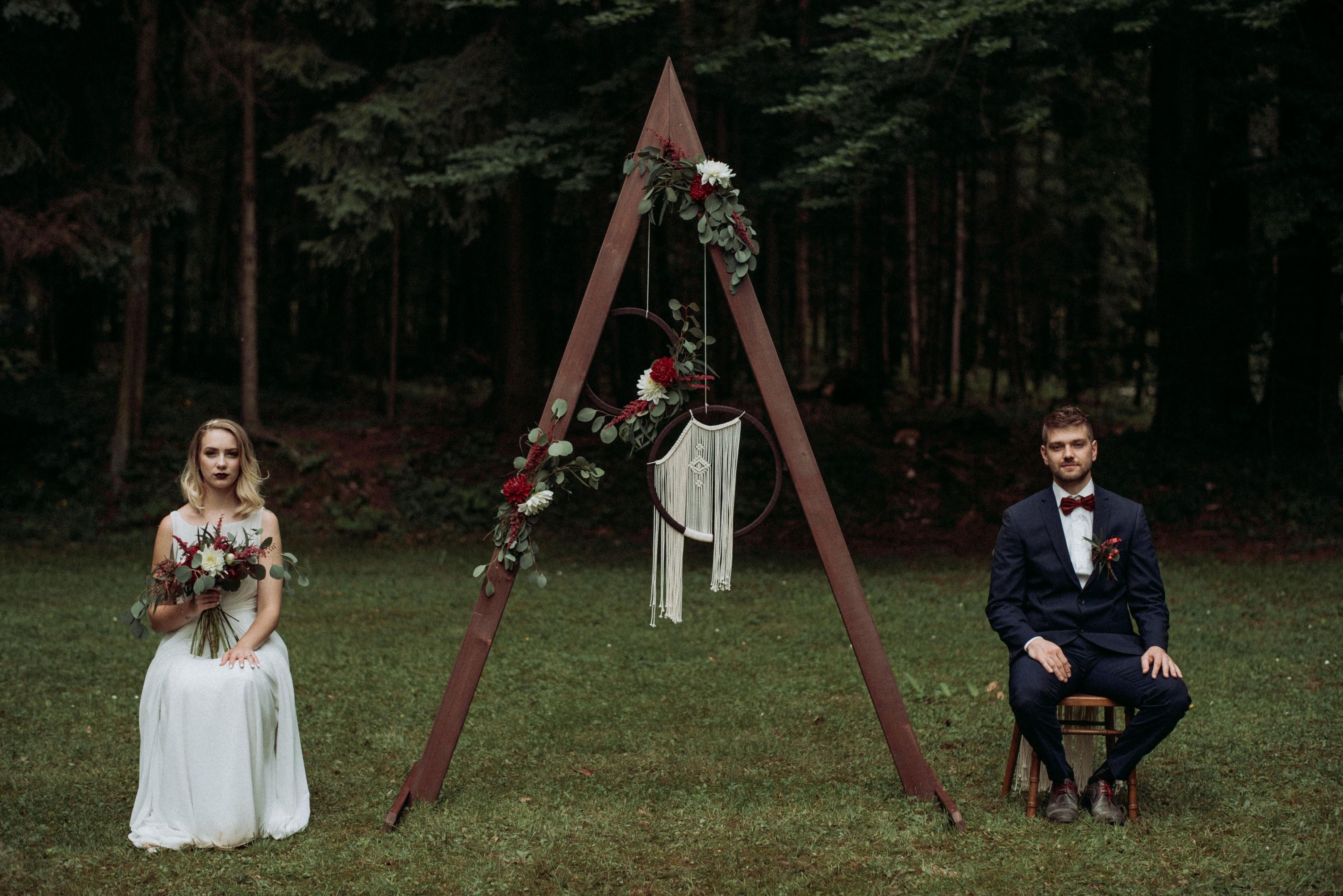 Vila Široko, poroka