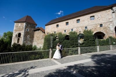 Poroka na Ljubljanskem gradu