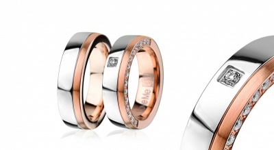 Zlatarnica, jeklena poročna prstana