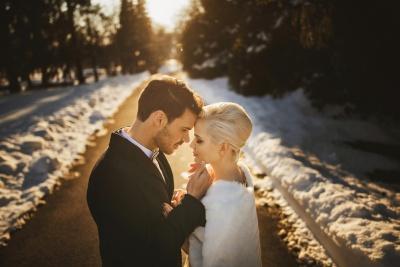 Zimska poroka na Brdu
