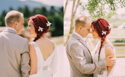 Poročna pričeska