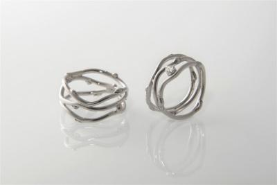 Unikaten poročni prstan
