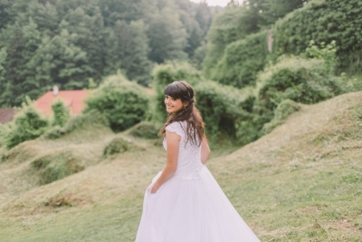Poročna obleka naročena na Kitajskem