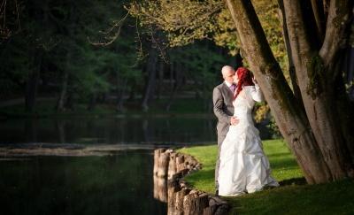 poročni par, poroka, brdo pri kranju, poročna fotografija